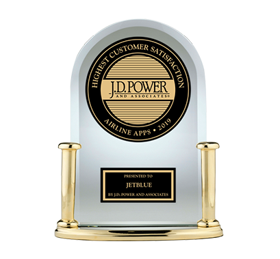 2019 JD Power Award Airline Travel Apps