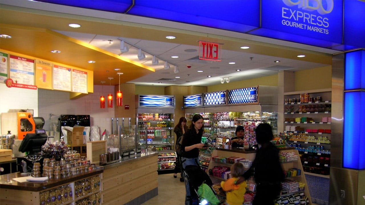 One of many Cibo grab & go outlets at T5.