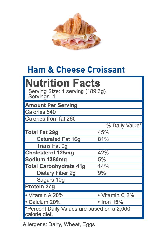 Nutritional Information - JetBlue